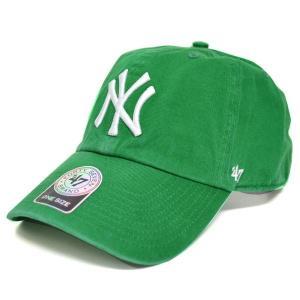 MLB ヤンキース キャップ/帽子 Kelly 47ブランド Cleanup Adjustable キャップ|mlbshop