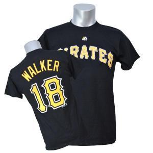 MLB パイレーツ ニール・ウォーカー Tシャツ ブラック マジェスティック Player Tシャツ 特別セール 特別セール 特別セール 特別セール mlbshop
