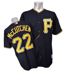 MLB パイレーツ アンドルー・マカチェン ユニフォーム オルタネート/ブラック Majestic mlbshop