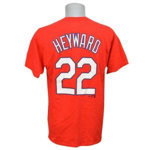 MLB カージナルス ジェーソン・ヘイワード Tシャツ Player Tシャツ Majestic 特別セール|mlbshop