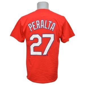 MLB カージナルス ジョニー・ペラルタ Tシャツ Player Tシャツ Majestic|mlbshop