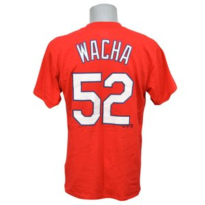 MLB カージナルス マイケル・ワカ Tシャツ Player Tシャツ Majestic|mlbshop