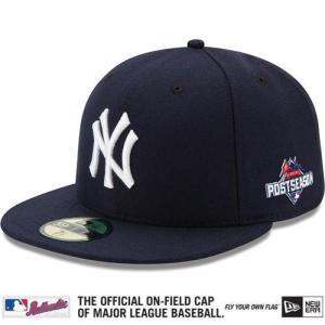 【決算セール】MLB ヤンキース キャップ/帽子 2015 Postseason Authentic On-Field 59FIFTY Cap New Era|mlbshop