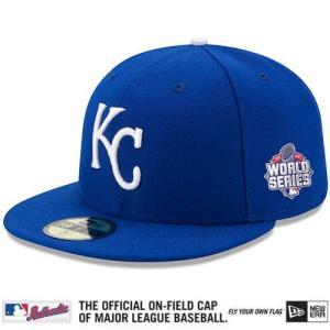 【決算セール】MLB ロイヤルズ キャップ/帽子 2015 World Series Authentic On-Field 59FIFTY キャップ New Era JP|mlbshop