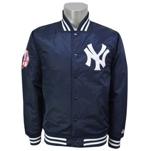 お取り寄せ MLB ヤンキース サテン ジャケット マジェスティック/Majestic|mlbshop