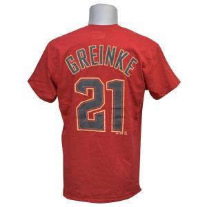 MLB ダイヤモンドバックス ザック・グリンキー プレイヤー Tシャツ マジェスティック/Majestic|mlbshop