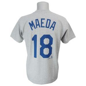 MLB ドジャース 前田健太 プレーヤー Tシャツ (日本サイズ) マジェスティック/Majestic|mlbshop