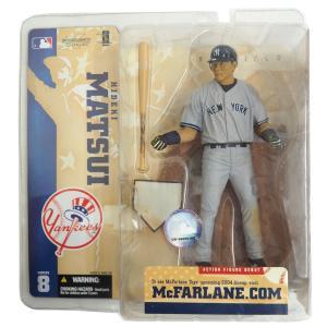 MLB ヤンキース 松井秀喜 フィギュア シリーズ8 マクファーレン / McFarlane ロード レアアイテム