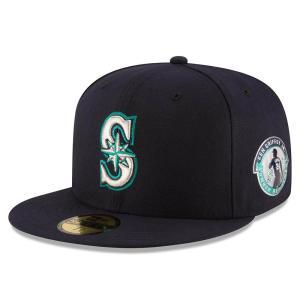 MLB マリナーズ ケン・グリフィーJR. リタイアメント パッチ 59FIFTY キャップ/帽子 ニューエラ/New Era ネイビー|mlbshop