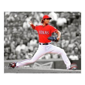 MLB レンジャーズ ダルビッシュ有 2012 スポットライト アクション フォト フォトファイル/Photo File mlbshop