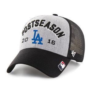 お取り寄せ MLB ドジャース 2016 地区優勝記念 ロッカールーム キャップ 47 Brand グレー|mlbshop