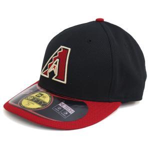 MLB ダイヤモンドバックス オーセンティック ロークラウン ダイアモンド エラ 59FIFTY キャップ/帽子 ニューエラ/New Era ゲーム|mlbshop