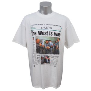 MLB ダイヤモンドバックス 1999年度 西地区優勝記念Tシャツ Tultex ホワイト レアモデル|mlbshop