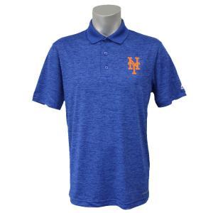 MLB メッツ ヒット ファースト ポロシャツ マジェスティック/Majestic ブルー|mlbshop