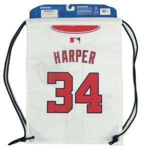 MLB ナショナルズ ブライス・ハーパー ツーサイド ユニフォーム ナップサック/バックパック/リュック メンズ フォーエバーコレクタブルズ/Forever Collectibles|mlbshop