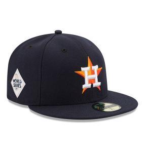 MLB アストロズ 2017 ワールドシリーズ進出記念 サイドパッチ 59FIFTY キャップ/帽子 ニューエラ/New Era ホーム|mlbshop