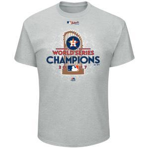 ご予約 MLB アストロズ 2017 ワールドシリーズ 優勝記念 ロッカールーム Tシャツ マジェスティック/Majestic|mlbshop