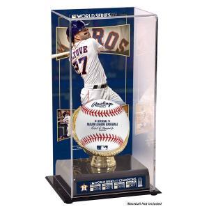 お取り寄せ MLB アストロズ ホセ・アルテューベ 2017 ワールドシリーズ 優勝記念 サブリメイテッド ディスプレイケース|mlbshop