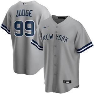MLB アーロン・ジャッジ ニューヨーク・ヤンキース ユニフォーム/ジャージ 2020 レプリカ プレーヤー ナイキ/Nike グレー トレーニング特集|mlbshop