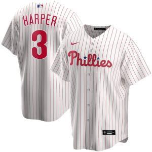 MLB ブライス・ハーパー フィラデルフィア・フィリーズ ユニフォーム/ジャージ 2020 レプリカ プレーヤー ナイキ/Nike ホワイト トレーニング特集|mlbshop