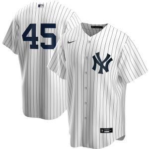 MLB ゲリット・コール ニューヨーク・ヤンキース ユニフォーム/ジャージ ホーム 2020 レプリカ ナイキ/Nike ホワイト|mlbshop