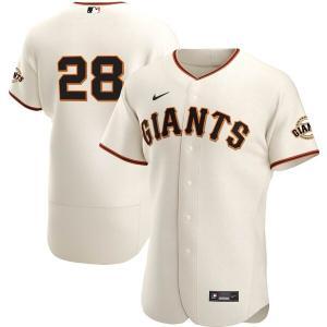 MLB バスター・ポージー サンフランシスコ・ジャイアンツ ユニフォーム/ジャージ ホーム 2020 オーセンティック ナイキ/Nike クリーム|mlbshop