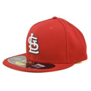 【セール】MLB カージナルス キャップ/帽子 ホーム ニューエラ Authentic Performance On-Field キャップ【500円引き】|mlbshop