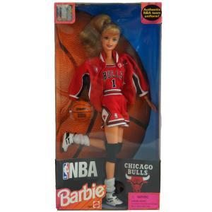 NBA ブルズ バービー人形 1998年モデル バービーコレクティブルズ/Barbie Collectibles レアアイテム
