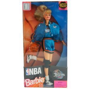 NBA ピストンズ バービー人形 1998年モデル バービーコレクティブルズ/Barbie Collectibles レアアイテム