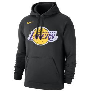 NBA パーカー ロサンゼルス・レイカーズ フーディー クラブ プルオーバー ナイキ/Nike ブラ...