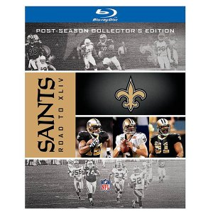 NFL セインツ 第44回 スーパーボウル ブルーレイ/Blu-ray コレクターズ エディション