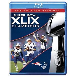NFL ペイトリオッツ 第49回 スーパーボウル 優勝記念 ブルーレイ/Blu-ray