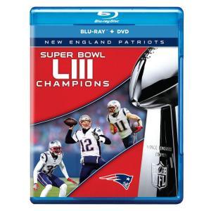 NFL ペイトリオッツ 第53回スーパーボウル 優勝記念 DVD & ブルーレイ セット