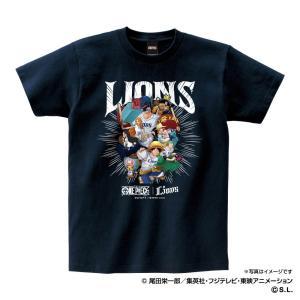 埼玉西武ライオンズ グッズ Tシャツ ワンピース×ライオンズ Tシャツ (麦わらの一味) Space...