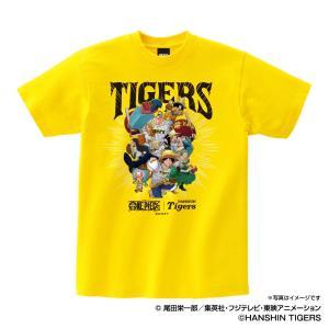 阪神タイガース グッズ Tシャツ ワンピース×タイガース Tシャツ (麦わらの一味) Space A...