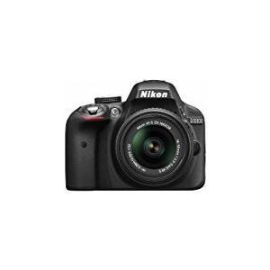 Nikon デジタル一眼レフカメラ D3300 18-55 VR IIレンズキット ブラック D3300LKBK|mlf