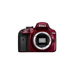 Nikon デジタル一眼レフカメラ D3400 ボディー レッド D3400RD|mlf