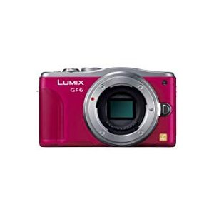 Panasonic ルミックス ミラーレス一眼カメラ ルミックス GF6 ボディ レッド DMC-GF6-R mlf