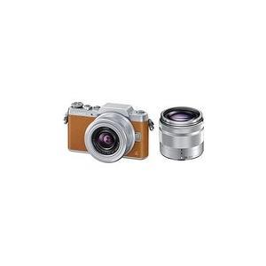 Panasonic ミラーレス一眼カメラ DMC-GF7ダブルズームレンズキット ブラウン DMC-GF7W-T mlf