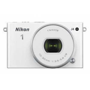 Nikon ミラーレス一眼 Nikon1 J4 標準パワーズームレンズキット ホワイト J4HPLKWH|mlf