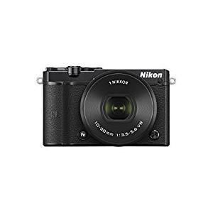 Nikon ミラーレス一眼 Nikon1 J5 標準パワーズームレンズキット ブラック J5HPLKBK|mlf
