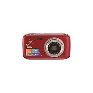 デジタルカメラ 12 MEGA PIXELS レッド JOY50SR ジョワイユ mlf