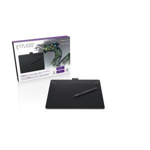 ワコム ペンタブレット Intuos 3D ペン&タッチ 3Dモデリング用 Mサイズ ブラック CTH-690/K2|mlf