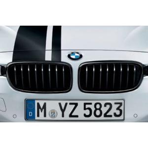 BMW M Performance純正 ブラック・キドニー・グリル F30 F31 左右セット|mline