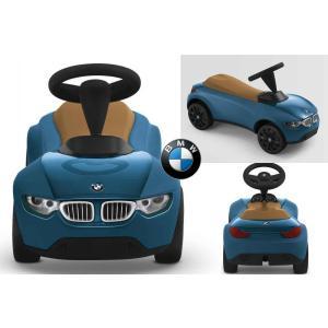 BMW純正 ベビーレーサー3 ブルー/キャラメル 乗用玩具 プレゼント Kid's Collection|mline