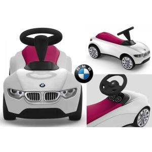 BMW純正 ベビーレーサー3 ホワイト/レッド 乗用玩具 プレゼント Kid's Collection|mline