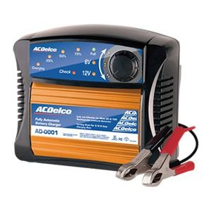 全自動バッテリー充電器 ACDelco ACデルコ AD-0001 6V 12V mline