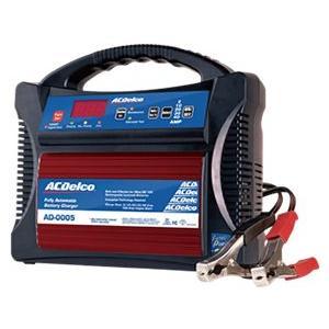 全自動バッテリー充電器 ACDelco ACデルコ AD-0005 12V AGM対応 100Aエンジンスタート mline