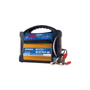 輸入車用 全自動バッテリー充電器 ACDelco ACデルコ AD-0007 12V AGM対応 輸入車用 CCA値入力自動充電 mline