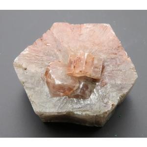 12999 霰石あられ石 Molina de Aragon スペイン産 典型的三連双晶,コレクター必須 上級品 : 瑞浪鉱物展示館 【送料無料】|mm-museum